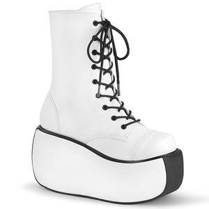 Platform Lace Up EDC Gogo Punk Ankle Boots